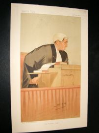 Vanity Fair Print 1893 Hon. Sir William Kennedy